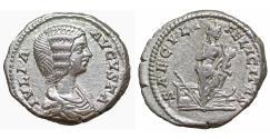Ancient Coins - JULIA DOMNA 193-211 Denarius Rome SAECVLI FELICITAS UNC