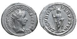Ancient Coins - Gordian III AR Antoninianus 243-244 Fifth Issue Rome XF