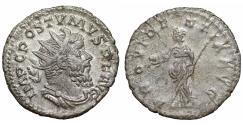 Ancient Coins - Postumus 260-269 AR Antoninianus XF Bust\ Providentia