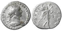 Ancient Coins - TRAJAN (98-117). Denarius. Rome. XF \ Mars