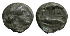 Ancient Coins - MYSIA Priapos 4th-3rd centuries BC Bronze  VF\XF