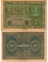 World Coins - GERMANY 50 MARK 1919