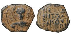 World Coins - CRUSADER Antioch Tancred Regent 1101-1103 Æ Follis Sandy patina. Rare. VF+