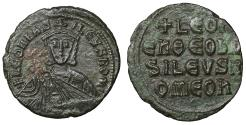 Ancient Coins - Leo VI The Wise 886-912 Follis Constantinople XF \ Byzantine Coins
