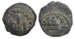 Ancient Coins - JUDAEA Roman Procurators Pontius Pilate(AD 26-36 AE prutah aXF
