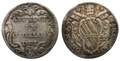 World Coins - Papal States Clement XII 1730-1740 AD Giulio R2 UNC