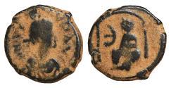 Ancient Coins - Justin I 518-527 Pentanummium VF+ \ Byzantine Coins
