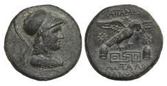 Ancient Coins - Phrygia Apameia 88-40 BC Bronze Eagle aUNC