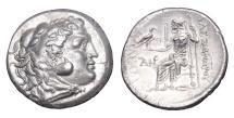 Ancient Coins - ALEXANDER III THE GREAT TETRADRACHM CALLATIS MINT 250-225 B.C