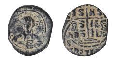 Ancient Coins - Romanus III AE Follis 1028-1034 AD XF