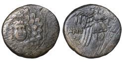 Ancient Coins - Amisos. Pontos. Bronze unit. 100 BC. VF