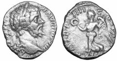 Ancient Coins - Septimius Severus AD 193-211 Uncertain mint Denarius Scarce  VF+