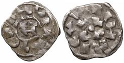 World Coins - Italy Lucca Henry III 1039-1125 AD Denar aUNC