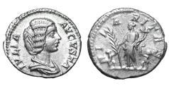 Ancient Coins - Julia Domna 196-211 AD Denarius Laodicea mint XF \ Roman imperial coin