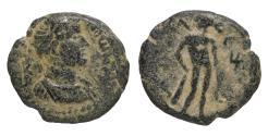 Ancient Coins - Antoninus Pius 138-161 Bronze 141/142. Bronze. Judaea. Gaza. VF