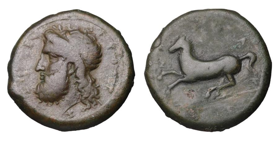 Ancient Coins - SICILY. Syracuse. Timoleon And Third Democracy. 344-317 BC. AE Dilitron