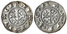 World Coins - aMS Verona. Frederick II of Swabia Grosso 1218-1250.