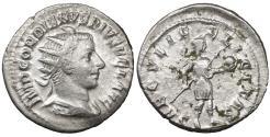 Ancient Coins - Gordian III. AR Antoninianus. Antioch, AD 242-244. VF\XF