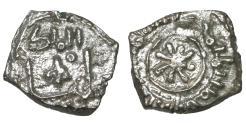 World Coins - Medieval Italy Sicily Guglielmo I 1154-1166 Dirhem Fraction (Kharruba) Palermo mint Rare aUNC