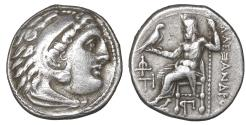 Ancient Coins - Macedon Antigonos I Monophthalmos 320-306 BC AR Drachm. XF