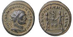 Ancient Coins - Maximianus Herculius AD 286-305 Cyzicus Antoninianus  UNC \ Roman Coins