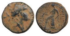 Ancient Coins - SELEUKID KINGS OF SYRIA Antiochos I Soter 281-261 BC Bronze VF