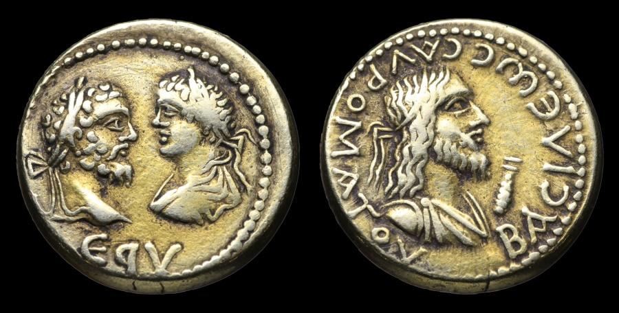 Ancient Coins - MINT STATE Stater Sauromates II under Septimius Severus 193-211 AD Bosporos. RARE
