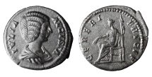 Julia Domna. 198-207 AD. Denarius. Laodicea ad Mare, Syria. CERERI FRVGIF XF