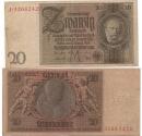 World Coins - GERMANY 20 REICHSMARK 1929