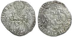 World Coins - Medieval Italy Pavia Galeazzo II Visconti 1359-1378 Grosso Rare UNC