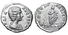 Ancient Coins - Julia Domna. Denarius. ca 200 AD \ Isis Roman coin