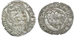 World Coins - AQUILEIA Louis of Teck 1412-1420 Soldo of 12 bagattini XF