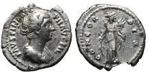 Ancient Coins - Faustina II. Augusta, A.D. 147-175. AR Denarius VG