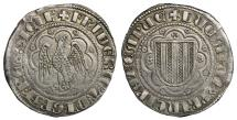 World Coins - Sicily. Messina. Frederick III of Sicily. 1296-1337 dC. Pierreale \ XF