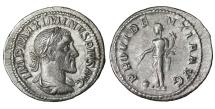 Maximinus I, Thrax. 235-238 AD. Denarius. XF