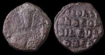 Ancient Coins - Leo VI the Wise 870 - 912 A.D. Bronze Follis VF. Good struck