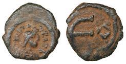 Ancient Coins - Justin II 565-578 Æ Pentanummium Ravenna mint VF\XF Byzantine Coins