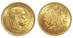 World Coins - Habsburg. Franz Joseph. 10 Korona 1905. Gold. UNC\MS