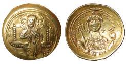 Ancient Coins - Michael VII Ducas 1071-1078 AD Gold Histamenon Nomisma Constantinople Near Mint State