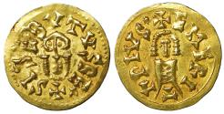 World Coins - Visigoths Sisebut 612-621 AD Gold Tremissis Uncirculated \ Barbarian Coins