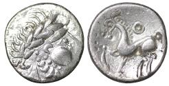 Ancient Coins - EASTERN CELTS. 2nd-1st century BC. Drachm. XF