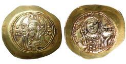 Ancient Coins - Michael VII 1071-1078 Gold Histamenon nomisma UNC