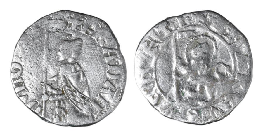 World Coins - Republic of Venice Francesco Dandolo 1329-1339 AD Soldino XF \ Italian Coins