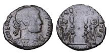 Ancient Coins - CONSTANTINE II. 337-340 AD. BRONZE