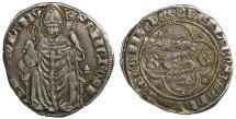 World Coins - Italy. Milan. Bernabò and Galeazzo Visconti. 1355-1378 AD. Grosso. aXF