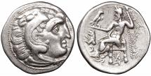 "Ancient Coins - Macedon. Kolophon. Alexander III ""the Great"" 336-323 BC. Drachm. XF+"