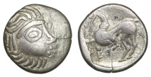 Ancient Coins - EASTERN EUROPE. Imitations of Philip II of Macedon (2nd-1st centuries BC). Drachm.