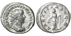 Ancient Coins - Gordian III. 238-244 AD. Antoninianus. \ LAETITIA \ aXF