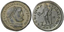 Ancient Coins - Galerius, 305-311 AD. AE Follis, Antioch Mint UNC \ Roman Coin