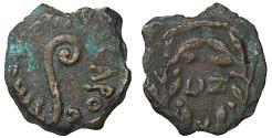 Ancient Coins - Judaea. Pontius Pilate. 26-36 AD. Prutah  aXF